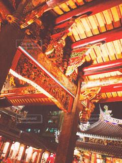 台北の寺院の写真・画像素材[1238822]