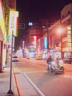 台北の夜の写真・画像素材[1238823]