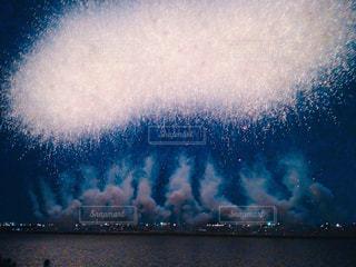 江戸川の花火の写真・画像素材[1239040]