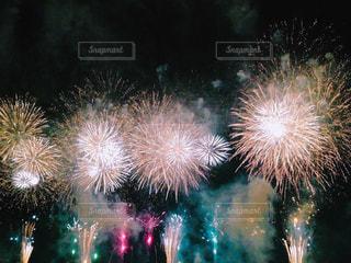 江戸川の花火の写真・画像素材[1239041]
