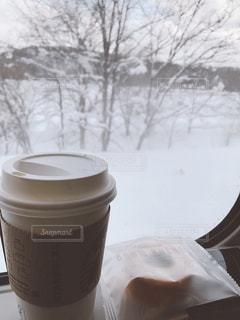 雪見コーヒーの写真・画像素材[1239112]
