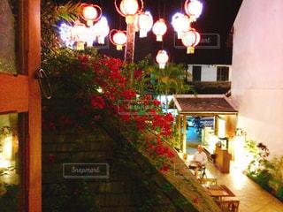 ルアンパバーンのレストランの写真・画像素材[1239733]