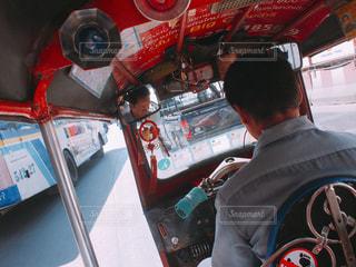 バンコクのタクシーの写真・画像素材[1244387]