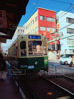 長崎の路面電車の写真・画像素材[1251439]
