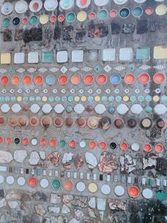 波佐見の町で見かけたモザイクの写真・画像素材[1251444]