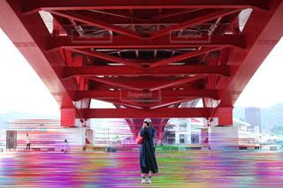 橋の下の撮影会▷の写真・画像素材[1225058]