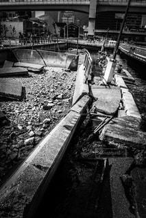 ▷阪神淡路大震災の写真・画像素材[1249357]