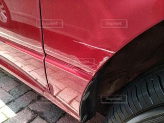 こすられた車の傷の写真・画像素材[1234241]