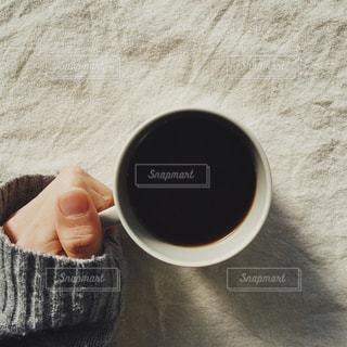 一杯のコーヒーの写真・画像素材[1222496]