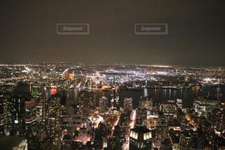 ニューヨークの夜景の写真・画像素材[1222810]