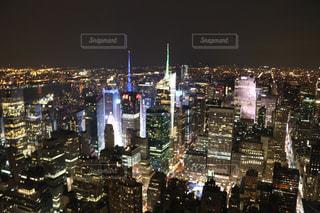ニューヨークの夜景の写真・画像素材[1222811]