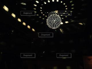 ディスコのミラーボールの写真・画像素材[1226568]