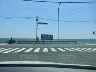 大好きな交差点の先頭待ち🎶の写真・画像素材[1224622]