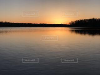 夕焼け空の写真・画像素材[1223771]