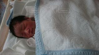 甥っ子誕生の写真・画像素材[1225796]