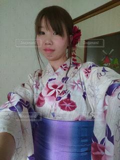 浴衣女子の写真・画像素材[1227810]
