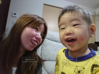私と子供の写真・画像素材[1236185]