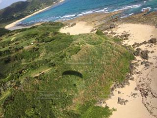 空中から見た景色の写真・画像素材[1233415]