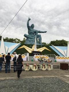 平和祈念像の写真・画像素材[2570842]