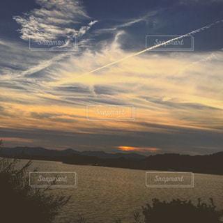 夕陽の写真・画像素材[1227143]
