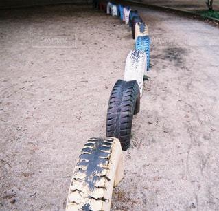 写ルンですのタイヤの写真・画像素材[1226421]