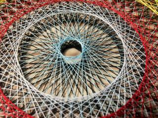 糸がけ曼荼羅その2の写真・画像素材[1276080]