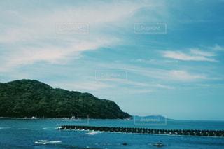 青い空、青い海の写真・画像素材[1227730]