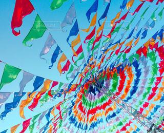 カラフルな凧の写真・画像素材[1227892]
