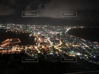 函館山  夜景の写真・画像素材[1230333]