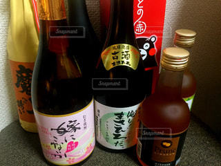 ワインのボトルの写真・画像素材[1250722]