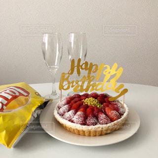 誕生日ケーキの写真・画像素材[1230909]