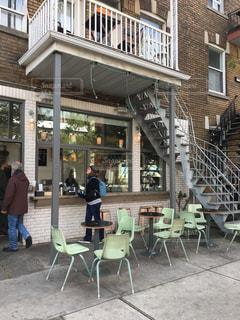 モントリオールのカフェの写真・画像素材[1259910]