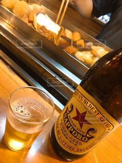 おでんとビールの写真・画像素材[1656060]