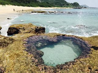 奄美大島 ハートロックの写真・画像素材[1231208]
