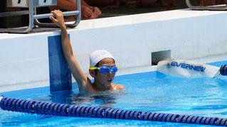 学校行事の水泳大会の写真・画像素材[1251762]