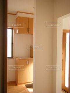 新築の玄関の写真・画像素材[1251764]