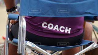 コーチの後ろ姿の写真・画像素材[1255849]