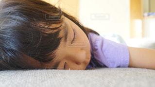 お昼寝の時間の写真・画像素材[1451550]