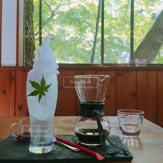 新緑の秩父のカフェにて - No.1230980