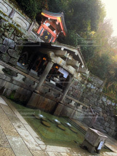 清水寺の一角の写真・画像素材[1250048]