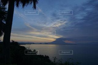 海と桜島の写真・画像素材[1241650]