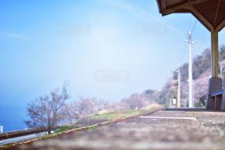 海と日本一近い駅の写真・画像素材[1235484]
