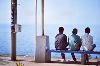 海と日本一近い駅の写真・画像素材[1235485]