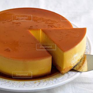 プリンケーキの写真・画像素材[1234573]