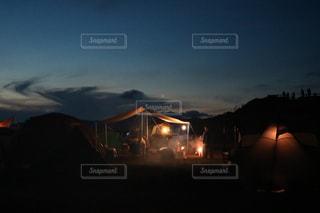 四国カルストキャンプの写真・画像素材[1234956]