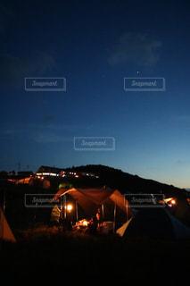 四国カルストキャンプの写真・画像素材[1234957]