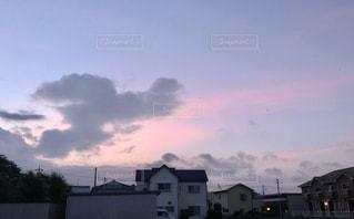 ピンク空の写真・画像素材[1509937]