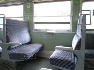 電車のボックス席の写真・画像素材[1265880]