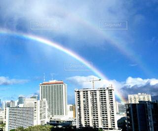 虹の街の写真・画像素材[1325289]
