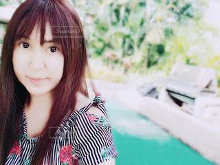 多田、selfie を取っての写真・画像素材[1354667]